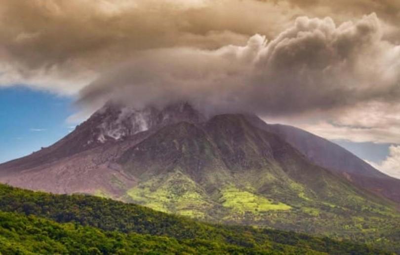 Ilha do Caribe registra maior explosão vulcânica de sua história