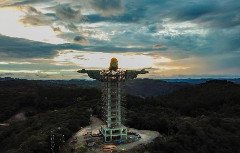 Cidade de Encantado terá estátua de Cristo maior que a do Rio