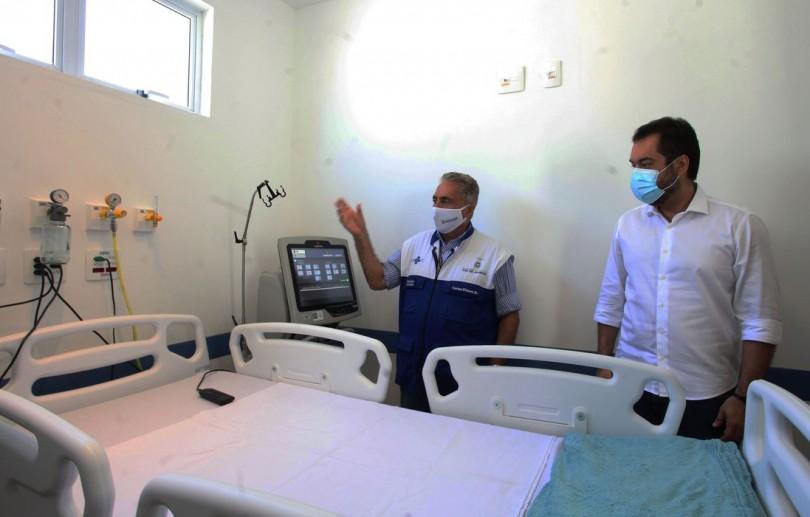 Governo do Rio inaugura com um ano de atraso hospital para tratar pacientes com covid-19