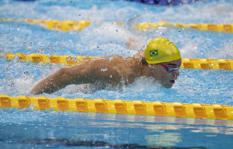 Paralimpíada: Gabriel Bandeira brilha nas eliminatórias da natação