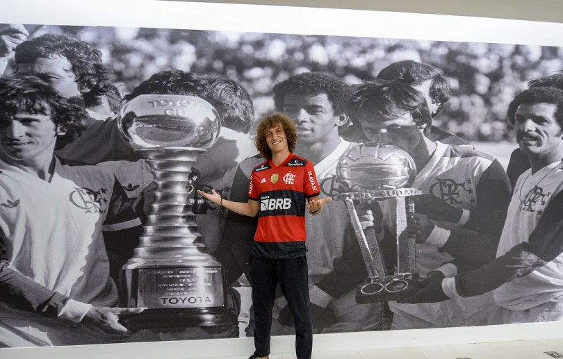 David Luiz é apresentado oficialmente pelo Flamengo