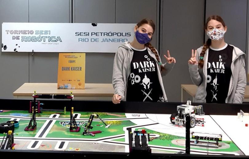 Alunos de Petrópolis disputam Torneio SESI de Robótica com soluções inovadoras na prática de esportes e qualidade de vida