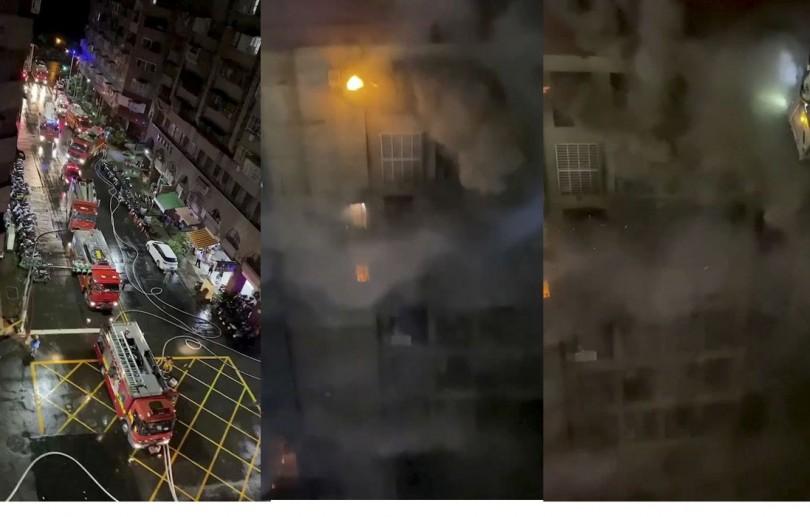 Incêndio em prédio em Taiwan deixa pelo menos 46 mortos