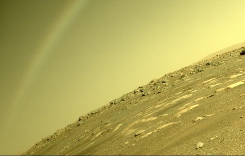 Arco-íris em Marte: Perseverance captura imagem e esclarece mistério