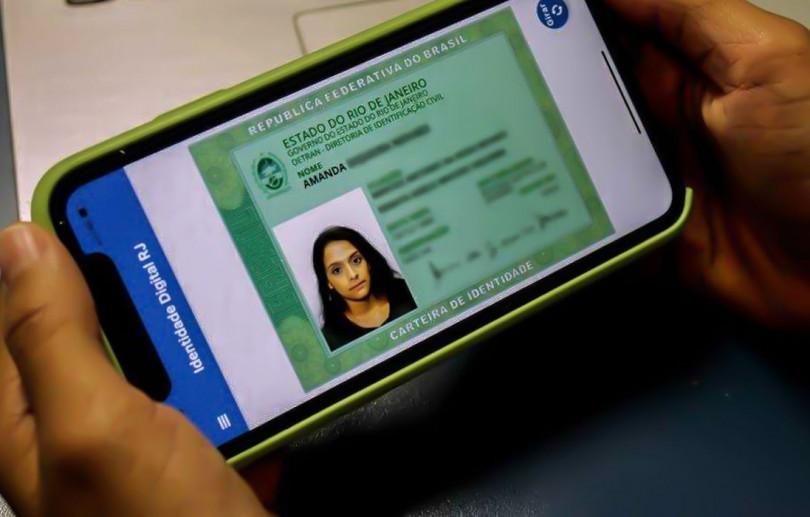Detran do Rio lança carteira de identidade digital