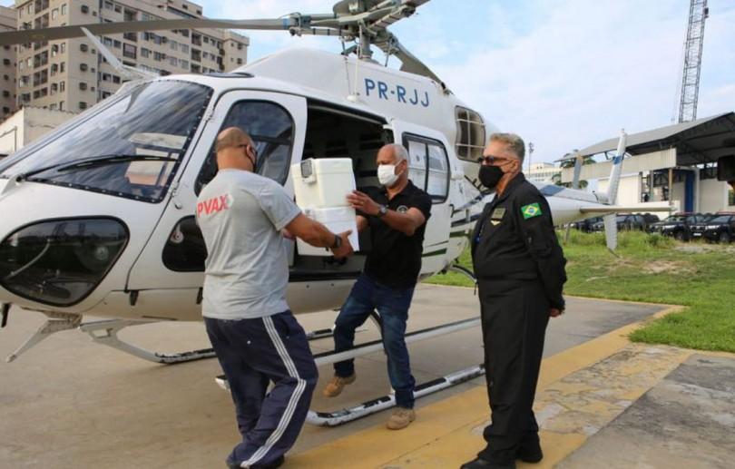 Covid-19: estado do Rio de Janeiro distribui doses aos municípios
